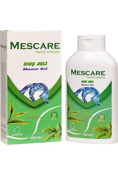Mescare Ozonlu Doğal Duş Jeli 400 ml - Parabensiz, Sülfatsız
