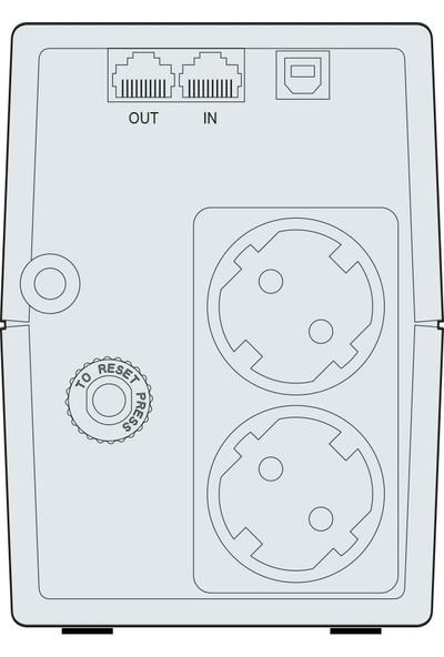 Makelsan Lion X 850Va 1X9Ah 5-10Dk Line Interactive Ups Mu00850L11Lx005