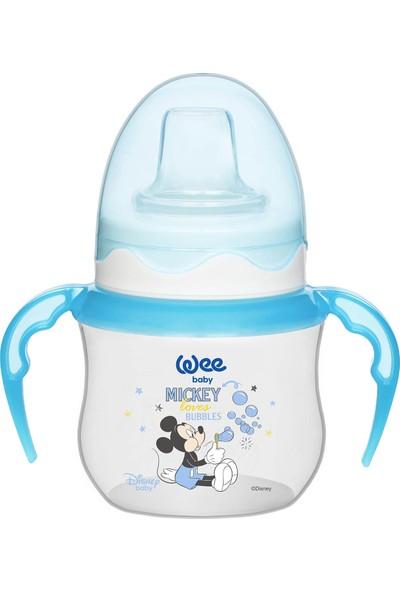 Wee Baby Disney Mickey & Minnie - Akıtmaz Suluk 125 ml - Mavi