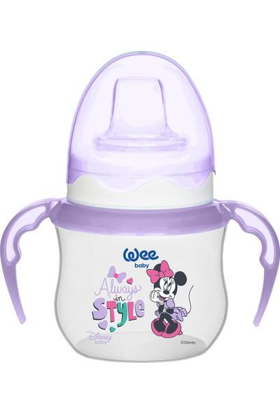 Wee Baby Disney Mickey & Minnie - Akıtmaz Suluk 125 ml - Mor