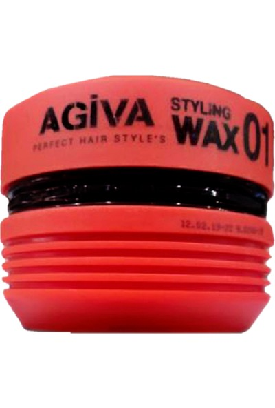Agiva Styling Hair Wax 01 Islak Etkili Wax 175ml