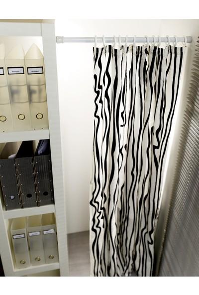 Germe Çubuğu Beyaz - Banyo Perde Borusu Gardinia 80x130 cm