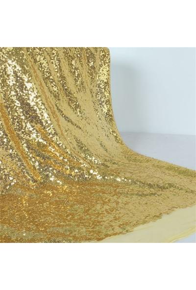 Jaju Baby Gold Pullu Payet Kumaş