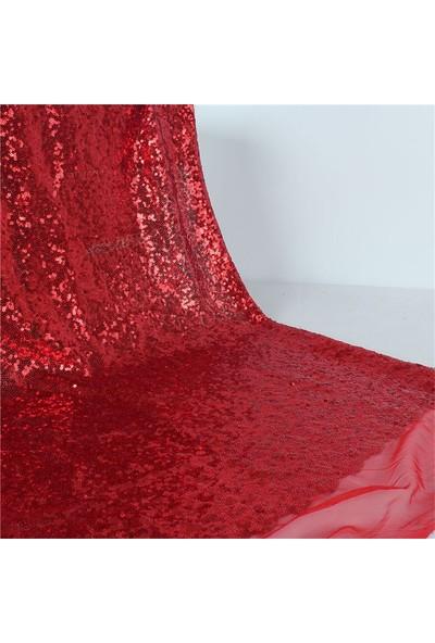 Jaju Baby Kırmızı Pullu Payet Kumaş