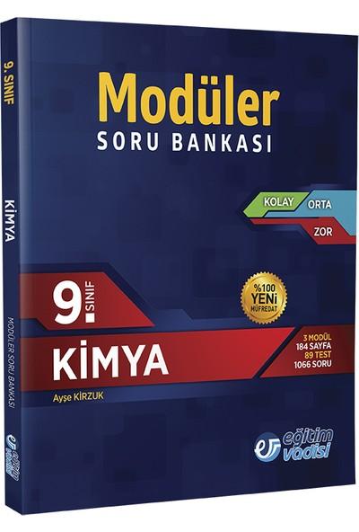 Eğitim Vadisi Yayınları 9. Sınıf Modüler Kimya Soru Bankası