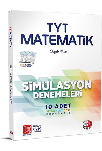Çözüm Yayınları TYT 3D Matematik Simülasyon Denemeleri