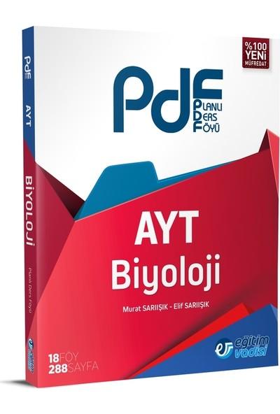 Eğitim Vadisi Yayınları AYT Biyoloji Planlı Ders Föyü (PDF)