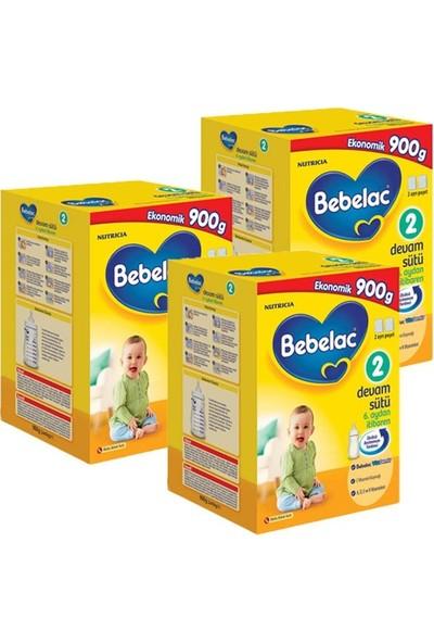 Bebelac 2 Çocuk Devam Sütü 900 gr 3'lü Set