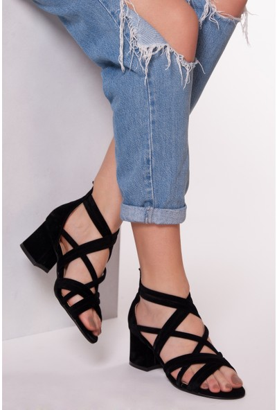 Tarçın Trc01-0113-3 Günlük Kadın Topuklu Ayakkabı