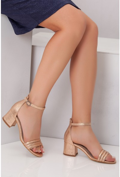 Tarçın Trc01-0146-6 Günlük Kadın Topuklu Ayakkabı