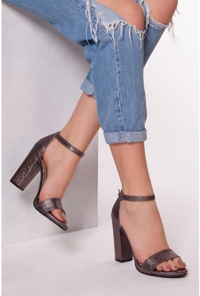 Tarçın Trc01-5005-5 Günlük Kadın Topuklu Ayakkabı