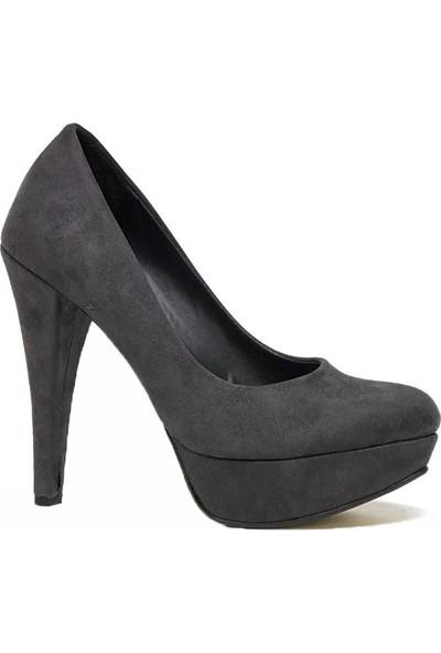 Tarçın Trc01-Ald-Plt Günlük Kadın Topuklu Ayakkabı