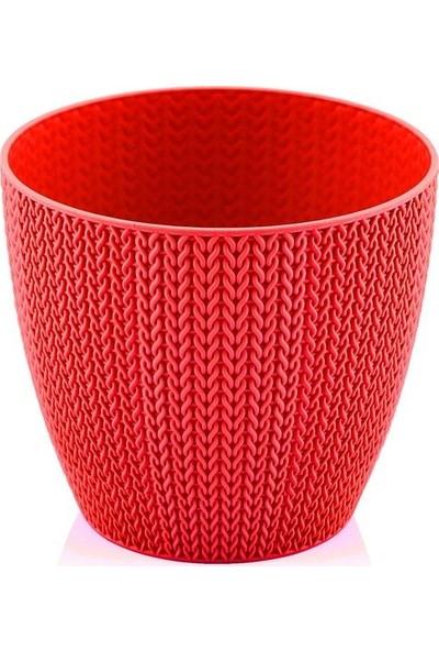 Hiper Sümela 1,4 lt Mercan Kırmızı Saksı