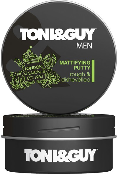 Toni&Guy Men Wax Doğal Mat Etki 75 ml