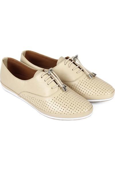 Gön Deri Kadın Ayakkabı 45110