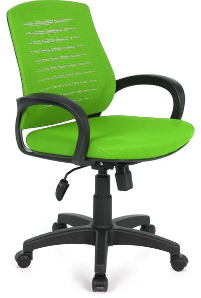 Seduna Polen XWork Yeşil Fileli Ofis Çalışma Koltuğu Bilgisayar Koltuğu