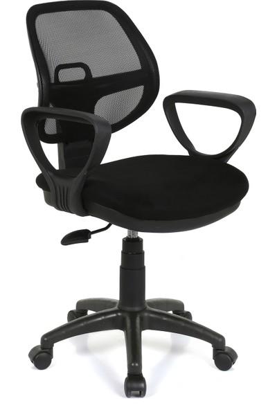 Seduna Evo XWork Siyah Fileli Ofis Çalışma Koltuğu Bilgisayar Koltuğu