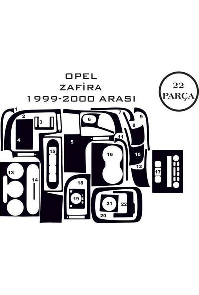 Carat Konsol Maun Kaplama Opel Zafira 99-05 22 Parça
