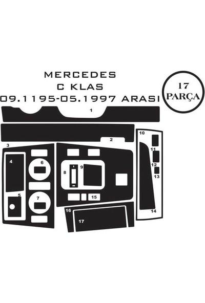 Carat Konsol Maun Kaplama Mercedes C Class 93-00 W202 17 Parça