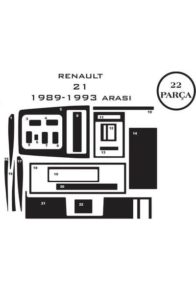 Carat Konsol Maun Kaplama Renault 21 86-95 22 Parça