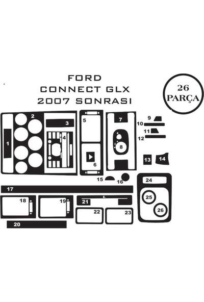 Carat Konsol Maun Kaplama Ford Transit Connect 02-13 Glx 26 Parça