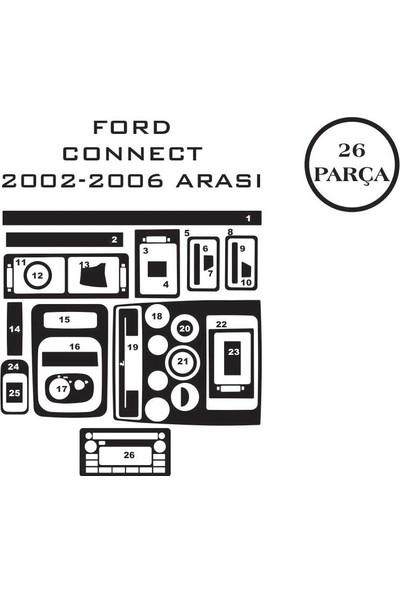 Carat Konsol Maun Kaplama Ford Transit Connect 02-13 26 Parça