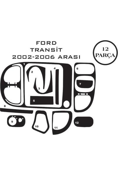 Carat Konsol Maun Kaplama Ford Transit T5 02-06 12 Parça