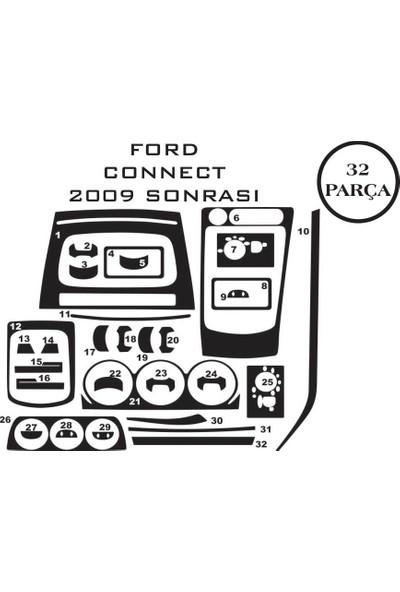 Carat Konsol Maun Kaplama Ford Transit Connect 02-13 32 Parça
