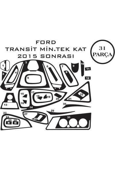 Carat Konsol Maun Kaplama Ford Transit Minibüs 15- 31 Parça