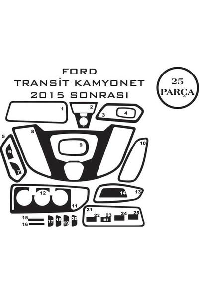 Carat Konsol Maun Kaplama Ford Transit Kamyonet 15- 25 Parça