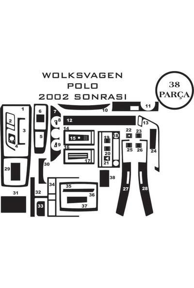 Carat Konsol Maun Kaplama Volkswagen Polo 02-08 38 Parça
