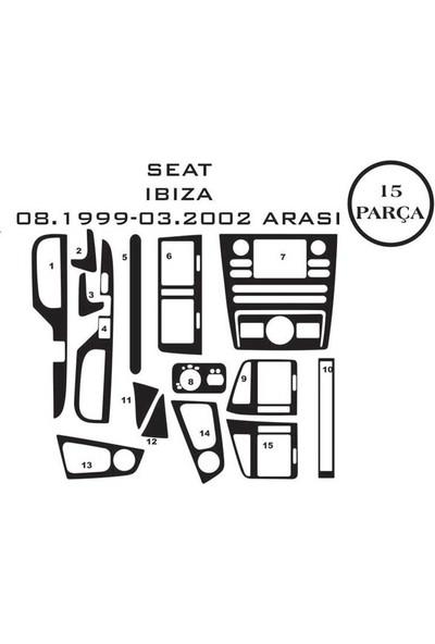 Carat Konsol Maun Kaplama Seat Ibiza 93-02 15 Parça