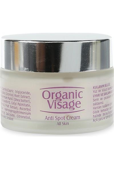 Organic Visage Active Anti Spot Cream Aktif Leke Karşıtı Krem 50 Ml