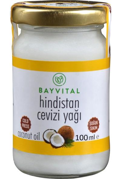 Bayvital Soğuk Sıkım Hindistan Cevizi Yağı 100 ml