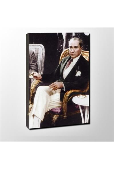 Decobritish Atatürk Kanvas Tablo