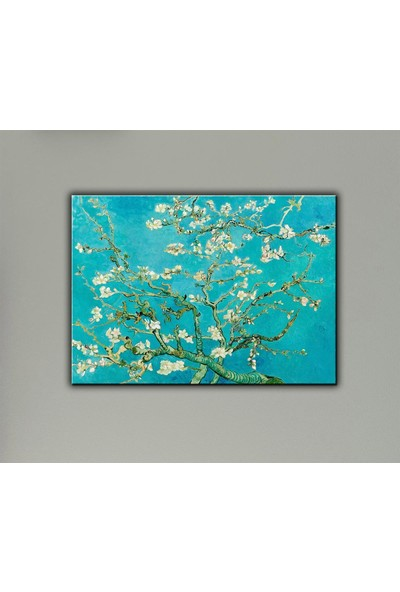 Decobritish Çiçek Açan Badem Ağacı Dalları