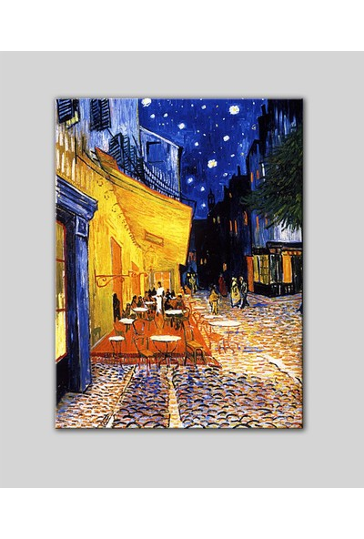 Decobritish Vincent Van Gogh Gece Kahvesi Kanvas Tablo