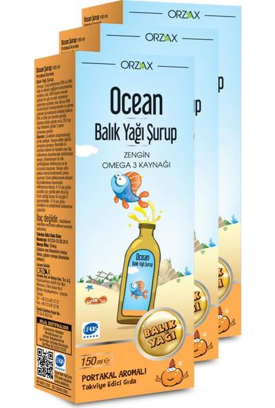 Ocean Plus Şurup Portakal (3 Adet)