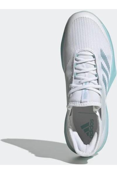 Adidas Adızero Ubersonıc 3 X Parley Cg6443 Kadın Tenis Ayakkabısı Beyaz