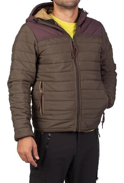 Exuma 291148 Erkek Softshell Şişme Mont Haki