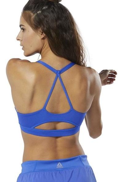 Reebok Du4710 Wor Tri Kadın Mavi Sporcu Sütyeni Bra