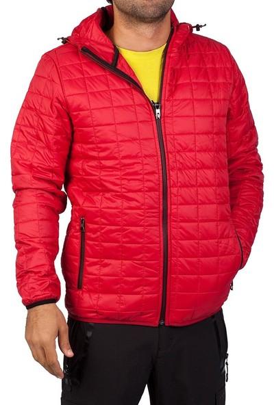 Exuma 481188 Erkek Şişme Mont Kırmızı