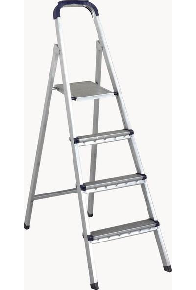 Zigana Merdiven Galvaniz 3+1 Basamaklı