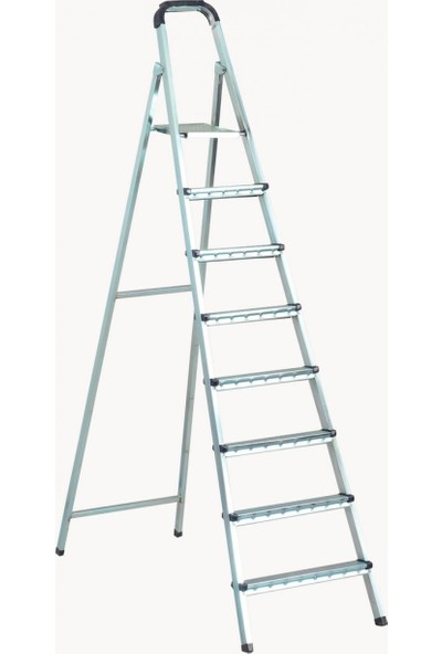 Zigana Merdiven Galvaniz 7+1 Basamaklı