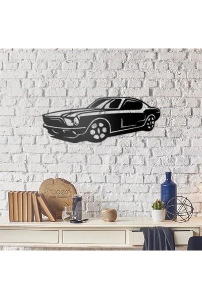 Pirudem Mustang Metal Duvar Süsü