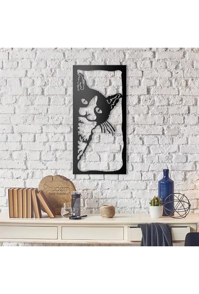 Pirudem The Cat Metal Duvar Süsü