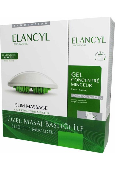 Elancyl Slimming Concentrate Gel 2x200 ml Kofre
