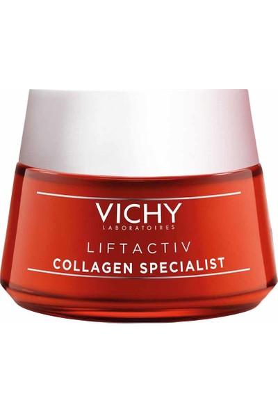 Vichy Liftactiv Collagen Specialist Bakım Kremi Kolajen Üretimini Destekleyici Kırışıklık Karşıtı 50 ml
