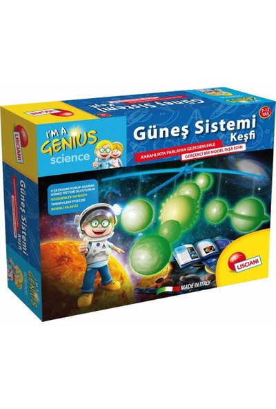 Lisciani Güneş Sistemi Keşfi Deney Seti