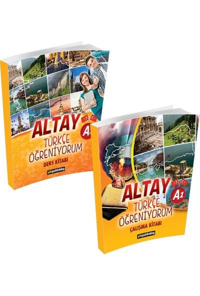 Altay Türkçe Öğreniyorum A1 Set Ders Kitabı ve Çalışma Kitabı